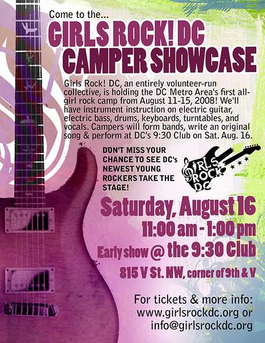 Girls Rock! DC Showcase