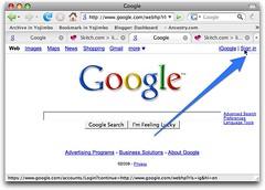 Google, signin