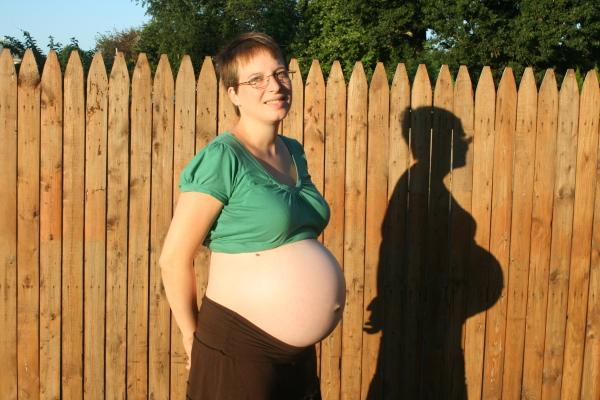 37 weeks belly