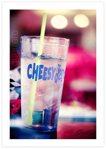 { Cheesy Jane's Water }