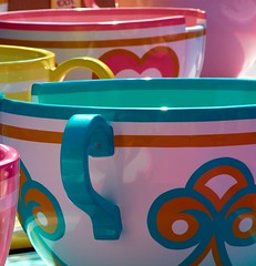 Disney - Mad Tea Party (Explored) (Express Monorail) Tags: california pink blue summer sunlight colors yellow wonder geotagged interestingness colorful raw ride tea disneyland magic details dream kingdom wed august disney mickey pop explore cups fantasy saturation spinning mickeymouse imagine theme teacups imagination wish anaheim walt 2008 magical themepark madhatter magickingdom attraction attractions fantasyland aliceinwonderland waltdisney madteaparty wdi imagineering disneymovie flickrexplore explored disneyparks 70300mmvr expressmonorail disneyride waltdisneyimagineering waltereliasdisney nikond300 paintshopprophotox2 disneyphotochallenge disneyphotochallengewinner joepenniston disneyphotography geo:lat=33813574 geo:lon=117918293 spinandpuke