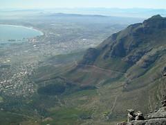 "Top of ""Tabletop"" 5 (TontonJon) Tags: africa urban mountain mountains nature landscape southafrica landscapes capetown panoramic coastal sprawl geologic tabletopmountain"