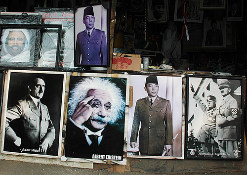 Hitler, Einstein and Sukarno