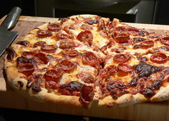 Pepperoni Pizza (HarlanH) Tags: cookingclub