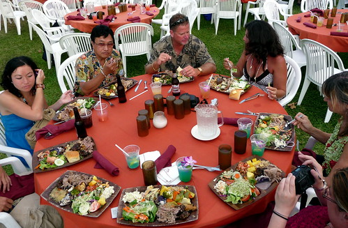 Luau Food -- A party for your tongue