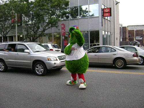 The Philly Phanatic