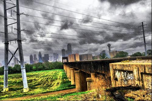 dallas weather. Dallas Texas Skyline Hurricane