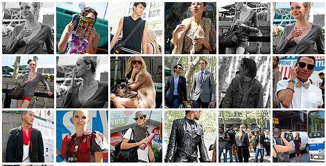 Bryant Park Fashion Week Street Shots montage