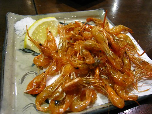 Deep-Fried River Shrimp