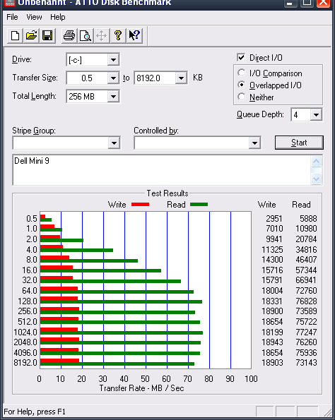 SSD STEC PATA 16GBSSD