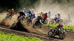 Motocross near Tankersley