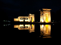 "Tempel von Debod ""Reflection"""