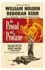 The Proud and Profane (1956) (Susanlenox) Tags: cinema film movie cine hollywood actress marionross actriz georgeseaton deborahkerr williamholden deweymartin thelmaritter annmorriss