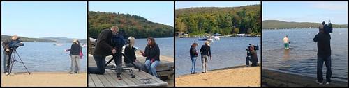 Reportage sur le lac