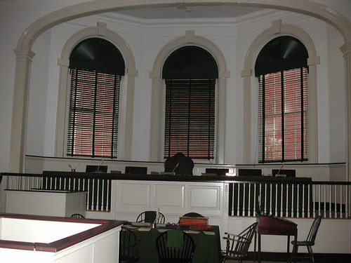 Independence Hall - Courtroom