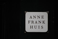 Amsterdam, The Anne Frank House (teachandlearn) Tags: amsterdam sign wall prinsengracht annefrank