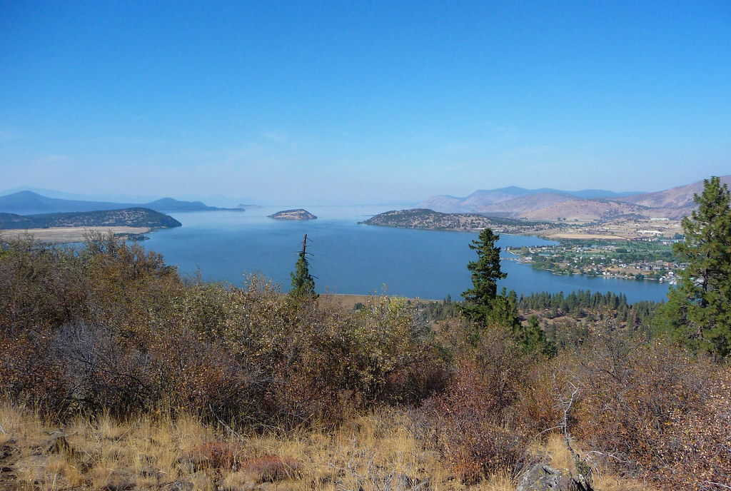 Klamath Falls Mountain Bike Trails - View From Hot Lava