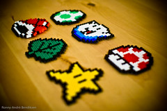 Super Mario Beads (ronny-andre) Tags: toys beads nintendo games supermario supermariobros sigma30mmf14