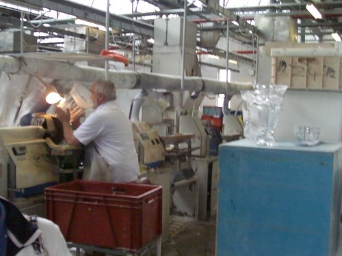 Ireland - Waterford Crystal Company - factory tour
