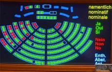 vote électricité Parlement