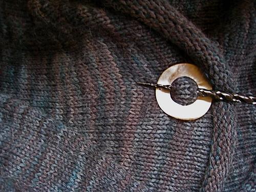 Close up, finished Imogen Jacket