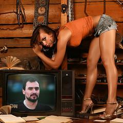 Manel en la tele