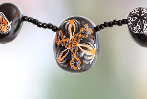Kaleidoscope cane bead