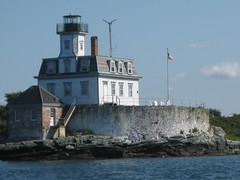 Rose Island Lighthouse, Newport, Rhode Island by StJenna