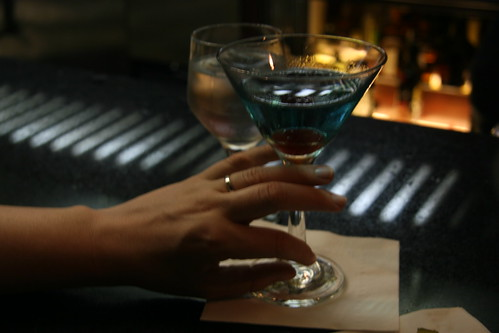 Betrothed Blue Martini by you.