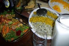 iranian food      سفره ایرانی (Nahidyoussefi) Tags: iran iranian tehran ایران saffron تهران ایرانیان colourfultable iranianfoods ناهیدیدسفی
