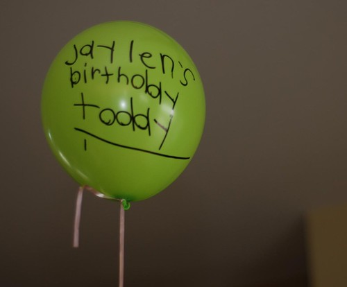 balloons decorated by Hope