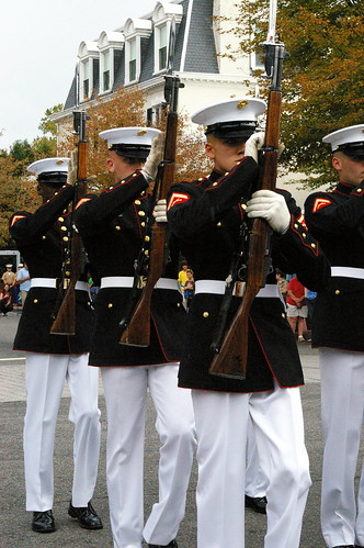 Marine barracks evening parade dress code
