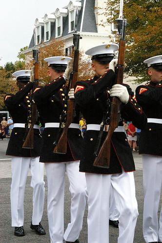 Marine barracks evening parade dress code
