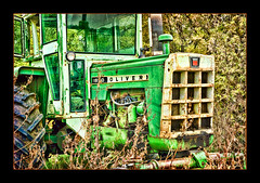 Green Oliver (Forrest Pearson) Tags: tractor green oliver farm flickrchallengegroup flickrchallengewinner