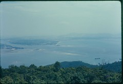 16 Top of Mnky Mtn DaNang Harbor 1 1968 (Rusty Leonard) Tags: vietnam 1968 danang f102