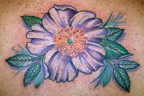 cherokee rose tattoo for the state of georgia malia reynolds