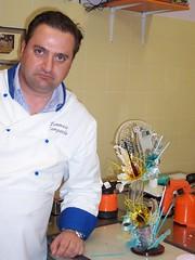 Tommaso Campanile Corso di Zucchero Artistico ( con il Maestro Rossano Vinciarelli)