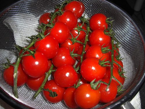 Wonderful cherry tomatoes