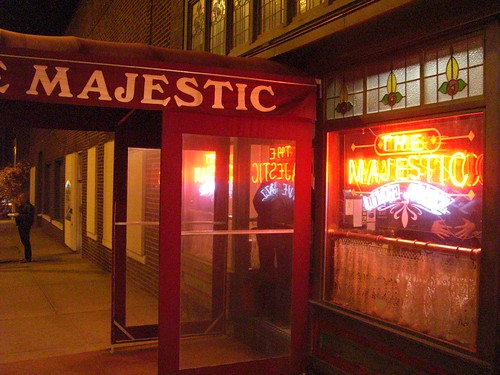 The Majestic - good jazz and steak