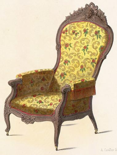 021-Sillon estilo Renacimiento Rococo