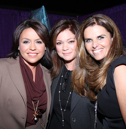 maria shriver. Maria Shriver, Rachel Ray and