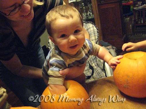 Heh heh...love this pumpkin stuff!