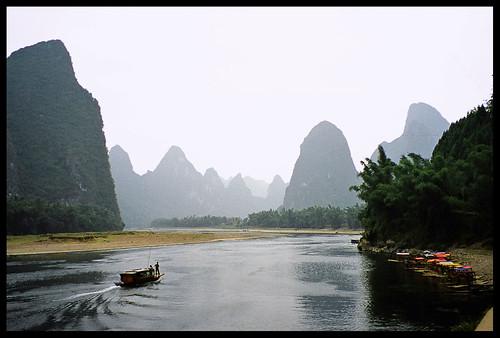 The Li River or Li Jiang is a