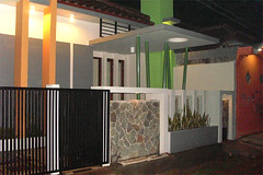 Tampak Depan Minimalis Kav-DKI by Indograha Arsitama by Indograha  Arsitama Desain & Build