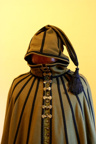16th C Spanish Travelling Cloak