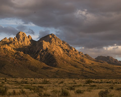 Organ Mountains at Sunset