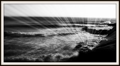 ~Elevation~ (petitillusion) Tags: sea bw music portugal u2 holidays explore atlanticocean lourinh ilustrarportugal