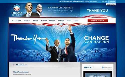 Web Politica Ganadora