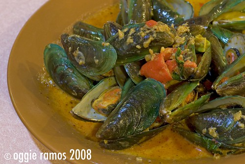 Mussels in Chili (Php 90)