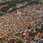 Regensburg: aerial view